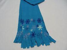 Azul - Invierno Estampado - Lana de Poliéster - Talla Única Bufanda
