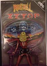 Rock N Roll Comics # 25 ZZ Top B/W Comic 1989 Very Good Condition