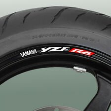YZF R6 Wheel rim stickers decals - Many Colours 600 03