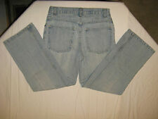 OLD NAVY LT WASH DENIM BOOTCUT JEANS  BUYS SZ 12R BACK TO SCHOOL