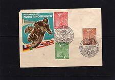 Beleg mit Nr.  88 -90 mit SST Nürnberg vom 17.8.1952  ( 24454 )