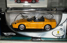 HOT WHEELS FERRARI 550 BARCHETTA PININFARINA GIALLA 1-18