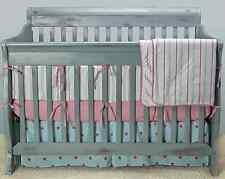 Kress Co.- *Stars and Stripes Baby Boy 9-Piece Crib Bedding Set* 100% COTTON