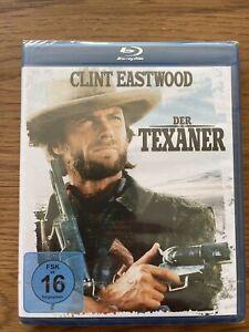 DER TEXANER • Clint Eastwood • Blu Ray • NEU / OVP