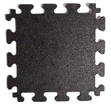 "TrafficMaster Modular Flooring Black 855481, 18""x18"" Rubber Tiles"