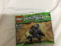 Lego 30087 Ninjago Cole's Cart  with Cole Minifigure Brand New Sealed Polybag