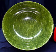 XXXL Very Large Beautiful Bowl Serpentine/Chinese Jade 2355g D=3 60mm H=145mm