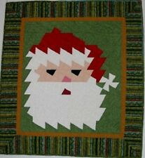 KRIS KRINGLE WITH A TWIST - Cherry Blossom Threads Pattern Twister Quilt Christ