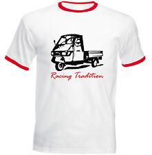 APE Piaggio 50 Racing tradición PP-nueva Camiseta Algodón-todos Los Tamaños En Stock