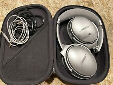 Bose QuietComfort 35 Silver Noise Cancelling Over the Ear Headphones
