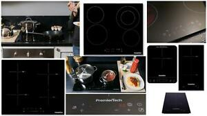 PremierTech Piani Cottura Vetroceramica e Induzione, 1, 2 e 4 Fuochi, da