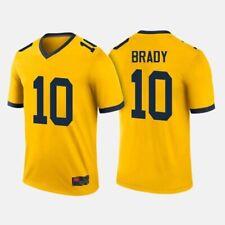Michigan Wolverines 10 Tom Brady Jersey