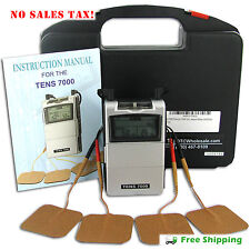 Tens Unit Electric Massage Machine Pulse Relief Muscle Stimulator Pain Therapy