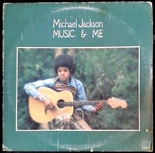 MICHAEL JACKSON  - Music & Me - US LP Motown 1973 - Happy, Too Young, Up Again