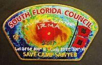 BSA SOUTH FLORIDA COUNCIL OA O-SHOT-CAW 265 SAWYER 2017 HURRICANE IRMA GMY CSP