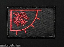 VIKING BLACKBIRD SUN LEAF ERICSON ARMY TACTICAL MORALE BLACK OP RED HOOK PATCH