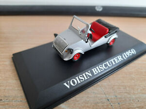 VOISIN  BISCUTER 1954  1/43 COLLECTION Nos Cheres Voitures D'antan  n° 77