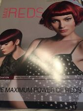 Goldwell Max Reds Cool Top chic  Chart Hair Color Info Booklet
