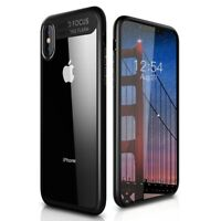 For iPhone Xr Xs Max X Luxury Clear Ultra Slim Hybrid TPU Shockproof Case Cover