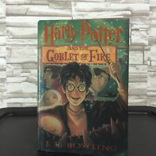 Harry Potter and The Goblet of Fire Hardcover 1st Edition
