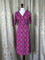 East Dress BNNT New Pink And Blue Summer India Cool Size M Floral Print