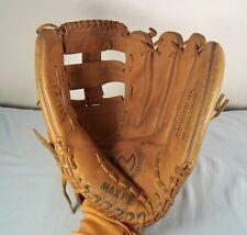 Max Pro Left Rht Leather Baseball Glove/Mitt Rawhide Lacing - Fs Pro