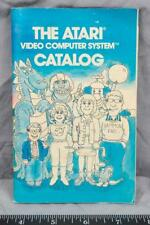 Vintage The Atari Video Computer System Catalog Video Game Booklet ajd