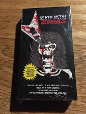 Death Metal Zombies - VHS Horror Zombie Slasher 1990's Sealed Brand New