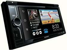 "Sony XAV-68BT Double DIN 6.2"" DVD CD Player Monitor Receiver  Bluetooth/USB Aux"