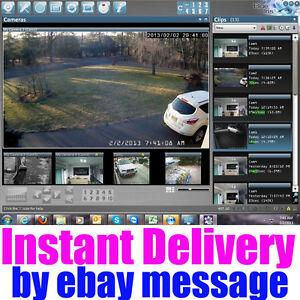 Blue Iris Pro v5.x ( Latest ) Video Camera Security Software - Full License Life