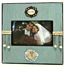 Timeless Elegance Picture Frame Mr. & Mrs. Holds 3 x 5 inch Photo Antique Theme