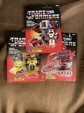 Transformers G1 Walmart Exclusive Reissue Autobots Warpath Bumblebee Swerve 2018