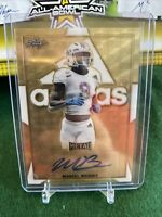 Marcel Brooks LSU 2019 Leaf All American True 1/1 Adidas Superfractor