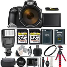 Nikon COOLPIX P1000 Digital Camera 125x Optical Zoom WiFi - Ultimate Saving Kit