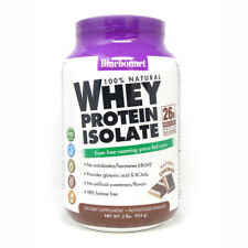 Blue Bonnet Whey Protein Isolate Powder Chocolate 2 Lbs Powder FREE SHIPPING
