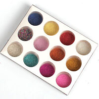 12 Mix Colors Micro Beads Caviar Set for Nail Art Tips Decoration