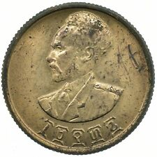 More details for ethiopia 10 cents/santeem 1944 beautiful collectible coin  #wt29595