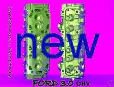NEW PAIR FORD RANGER TAURUS SABLE 3.0 OHV CYLINDER HEADS 8mm 86-99