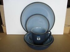 Denby Blue Jetty Blue Dinner Plate T Plate Cereal Bowl Mug New !st Qual Ex Cond