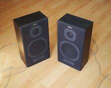Sony 2-Way Hi-Fi Stereo Speaker System SS-A20, NERO 2 x 35 W