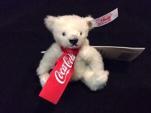 Coca-Cola polar bear ornament Limited Edition by Steiff EAN 355318