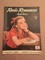 Radio Romances-(Formerly Radio Mirror)  Lorna Lynn --Vintage Oct 1945