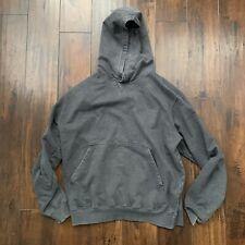 Vintage Gray USA Yzy Style Sweatshirt Basic Blank Simple Cool Travis Scott Vibe