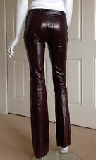 Gucci Eel Leather Pants 38 IT 2 US Tom Ford