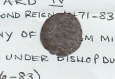 More details for clipped 1471 to 1483 durham mint edward iv hammered silver penny used condition