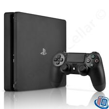 Sony PlayStation 4 PS4 Slim 1TB Jet Black Gaming Console CUH-2215B w/Controller