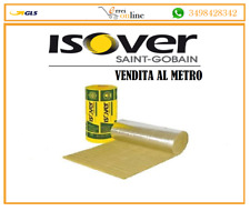 ISOVER LANA DI ROCCIA 1x1 mt FELTRO SP. 3 LAMELLARE PER ISOLAMENTO CANNE FUMARIE