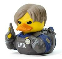 Resident Evil 2 Remake Leon S Kennedy TUBBZ Rubber Ducky Duck Figure