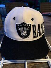 VTG LOS ANGELES RAIDERS 80s 90s APEX ONE Pro Line Hat Cap Snapback Spelled
