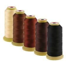 5Color Spool Hair Weave Sew Decor Sewing Thread Set Hair Extension Bangs Wig